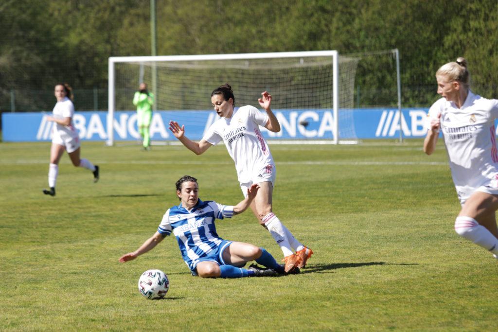 Alba Merino nun encontro desta tempada 2020/2021 en Abegondo | wykazszkowski