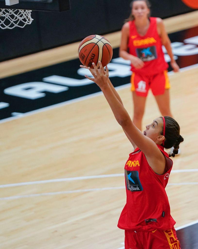 Irene Noya coa Selección Española / CEDIDA