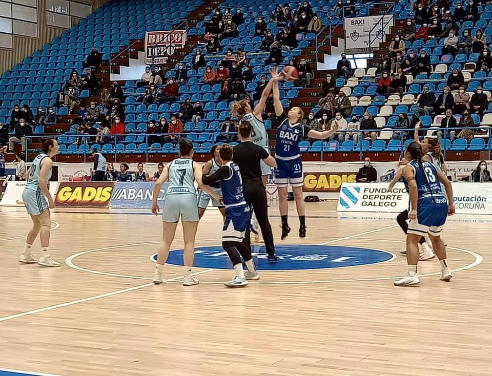BAXI Ferrol vs Celta Zorca Recalvi na Malata / CELTA BALONCESTO