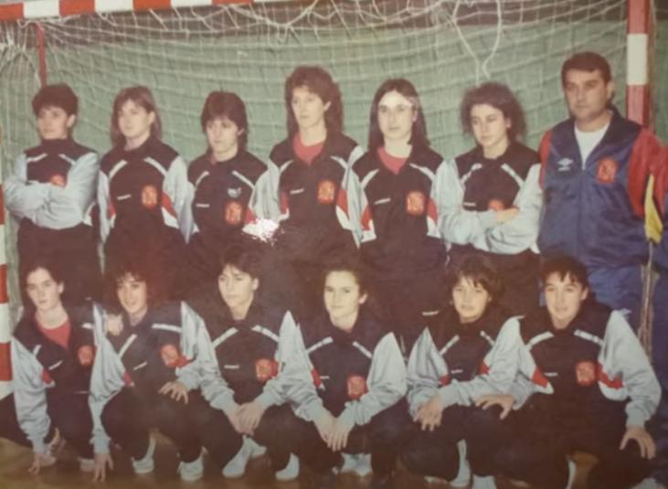 Primeira Selección de fútbol sala feminino de España / YOUTUBE ANA AMADO