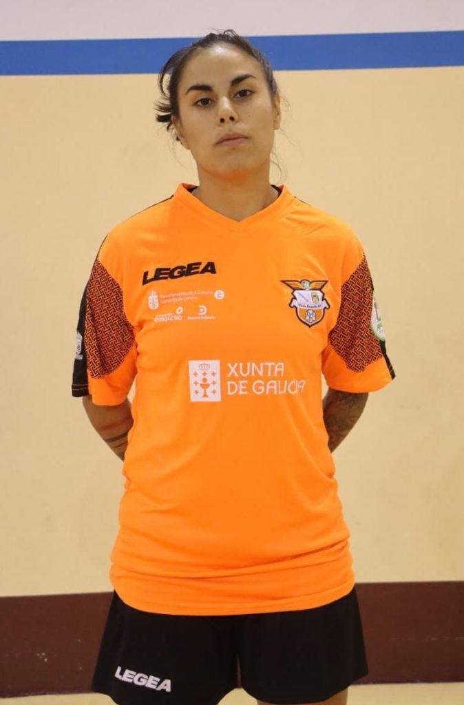 A futbolista arxentina Sofia Florentín, Tana / VIAXES AMARELLE FSF
