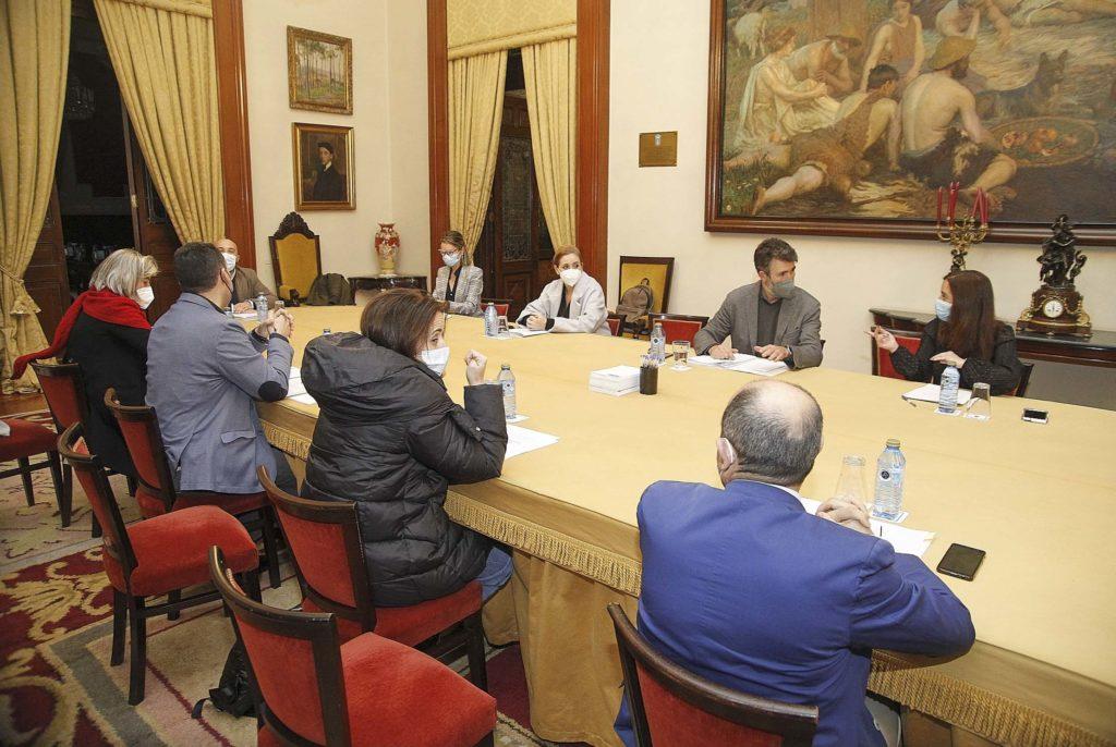 Xunta de Goberno Local da Coruña aproba bases bolsas deportivas / CONCELLO DA CORUÑA