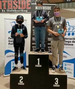 Circuíto Galego de Skate, podio Amateur masculino / FGP