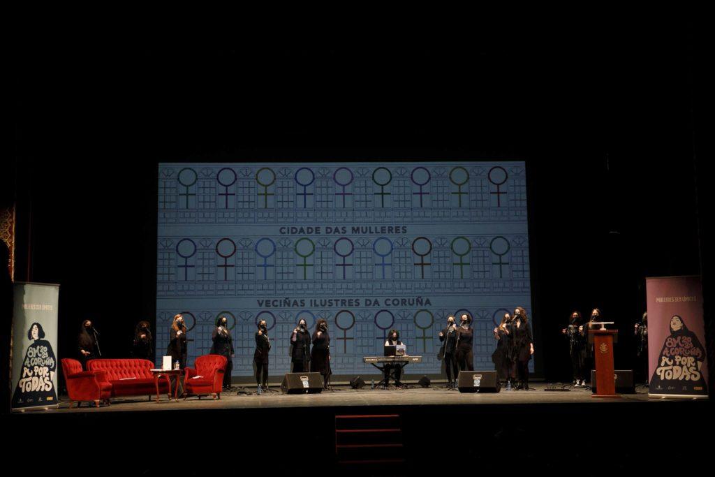 'Sisters in the house', a presentación do libre 'Cidade das Mulleres. Veciñas Ilustres da Coruña' / CONCELLO DA CORUÑA