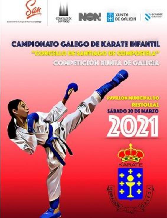 Campionato Galego de karate infantil 2021 / FEDERACIÓN GALEGA DE KARATE