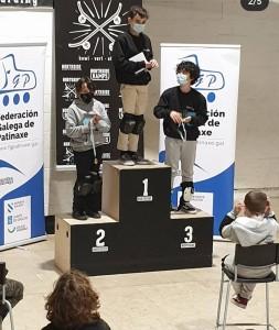 Circuíto Galego de Skate, podio Medio Masculino / FGP