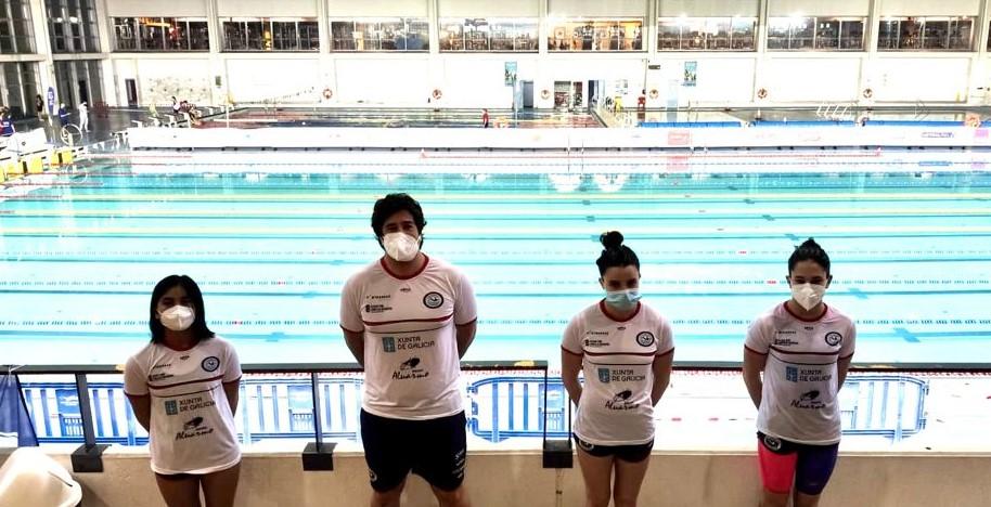 CN Ponteareas, Bronce no Campionato de España infantil de inverno de natación con Iria Lemos, Sovía Carballo e Rosette Otero / CN PONTEAREAS