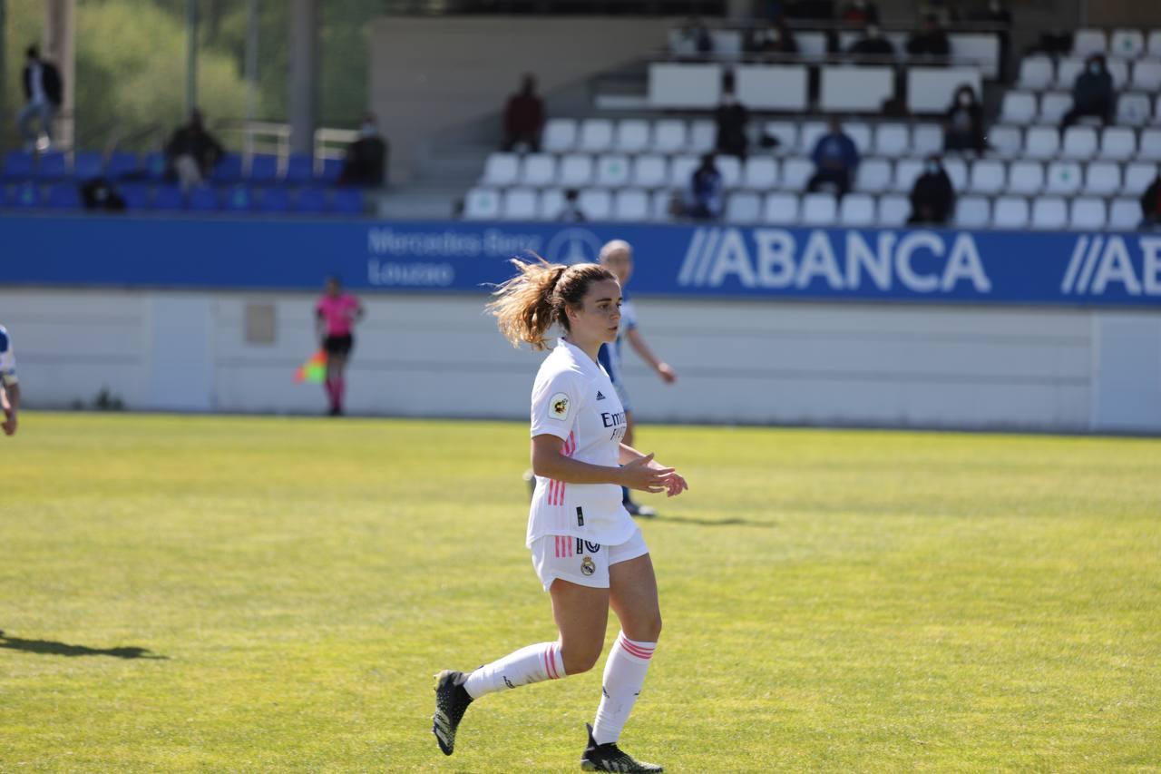 Tere Abelleira na súa volta a Abegondo Dépor ABANCA - Real Madrid | wykazszkowski