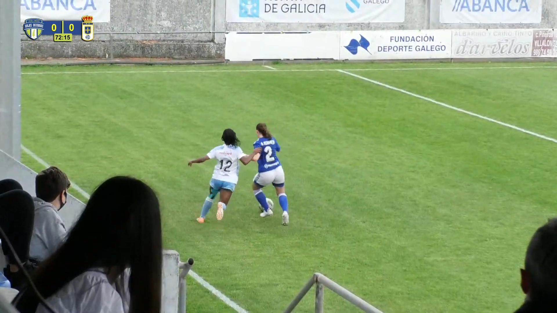 Viajes InterRías F.F. vs. Real Oviedo Femenino B / VIAJES INTERRÍAS YT