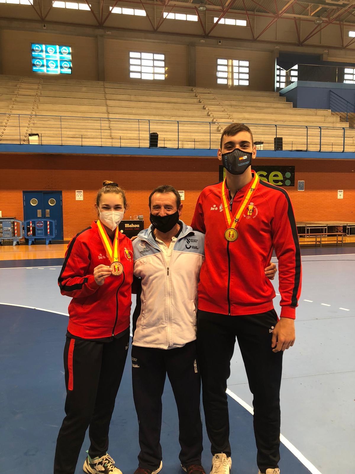 Arlet Ortiz queda terceira no Open de España de Taekwondo / FGT