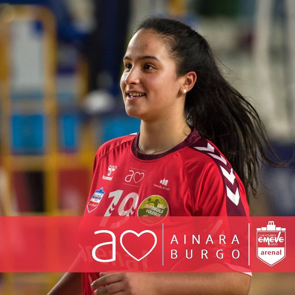Ainara Burgo, xogadora do Emevé / EMEVÉ
