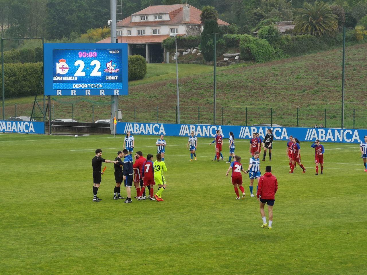 Depor ABANCA B vs Gijón FF / GIJÓN FF