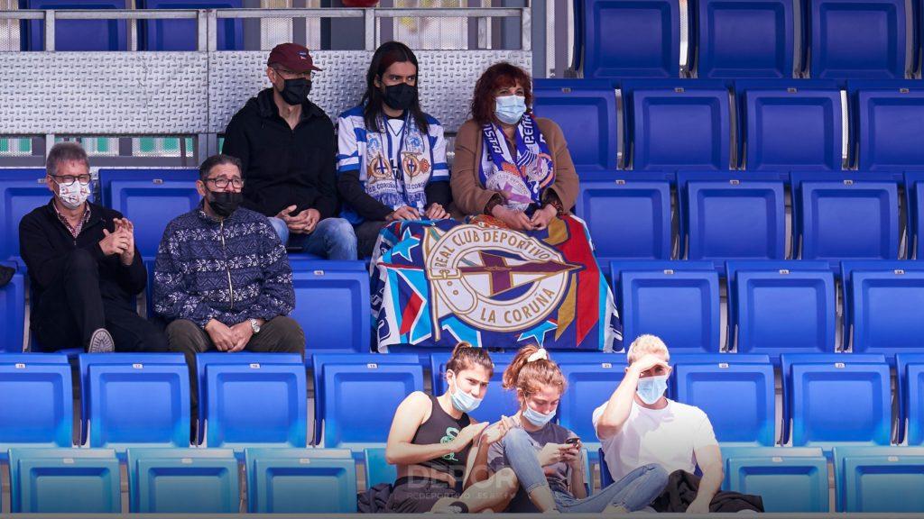 Deportivistas no Estadi Johan Cruyff / RCD