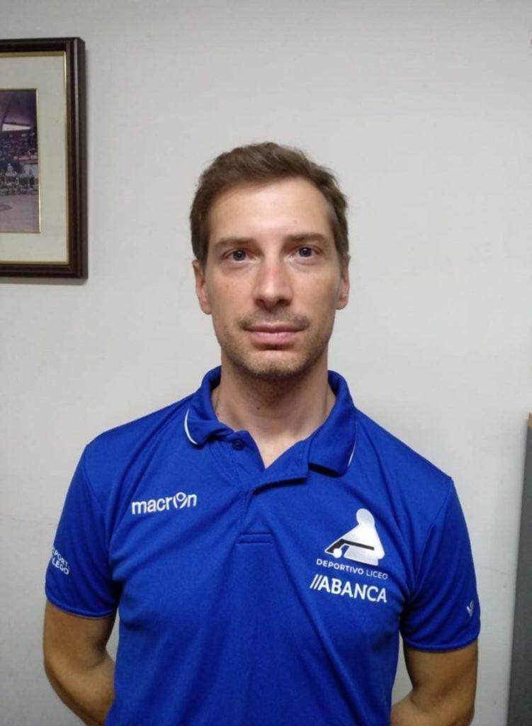 Carlos Loureiro, adestrador / HC DEPORTIVO LICEO