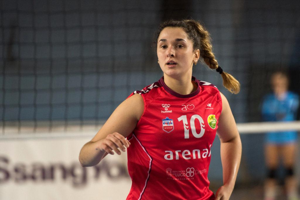 Sara Urrea renova o seu compromiso co Arenal Emevé unha tempada / CV EMEVÉ LUGO