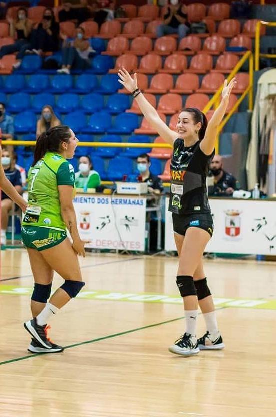 Jimena Fernández, nova xogadora do Arenal Emevé / EMEVÉ