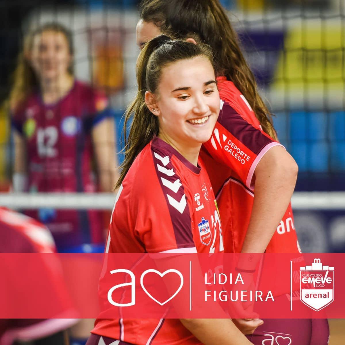 Lidia Figueira, xogadora do Emevé / EMEVÉ