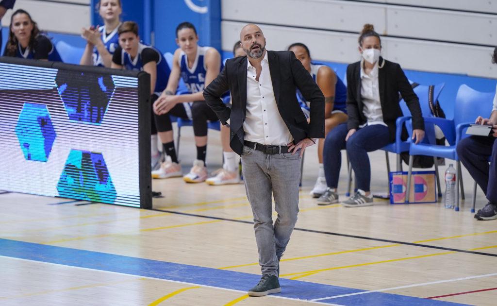 Lino López, adestrador do BAXI Ferrol / ALBERTO NEVADO - FEB