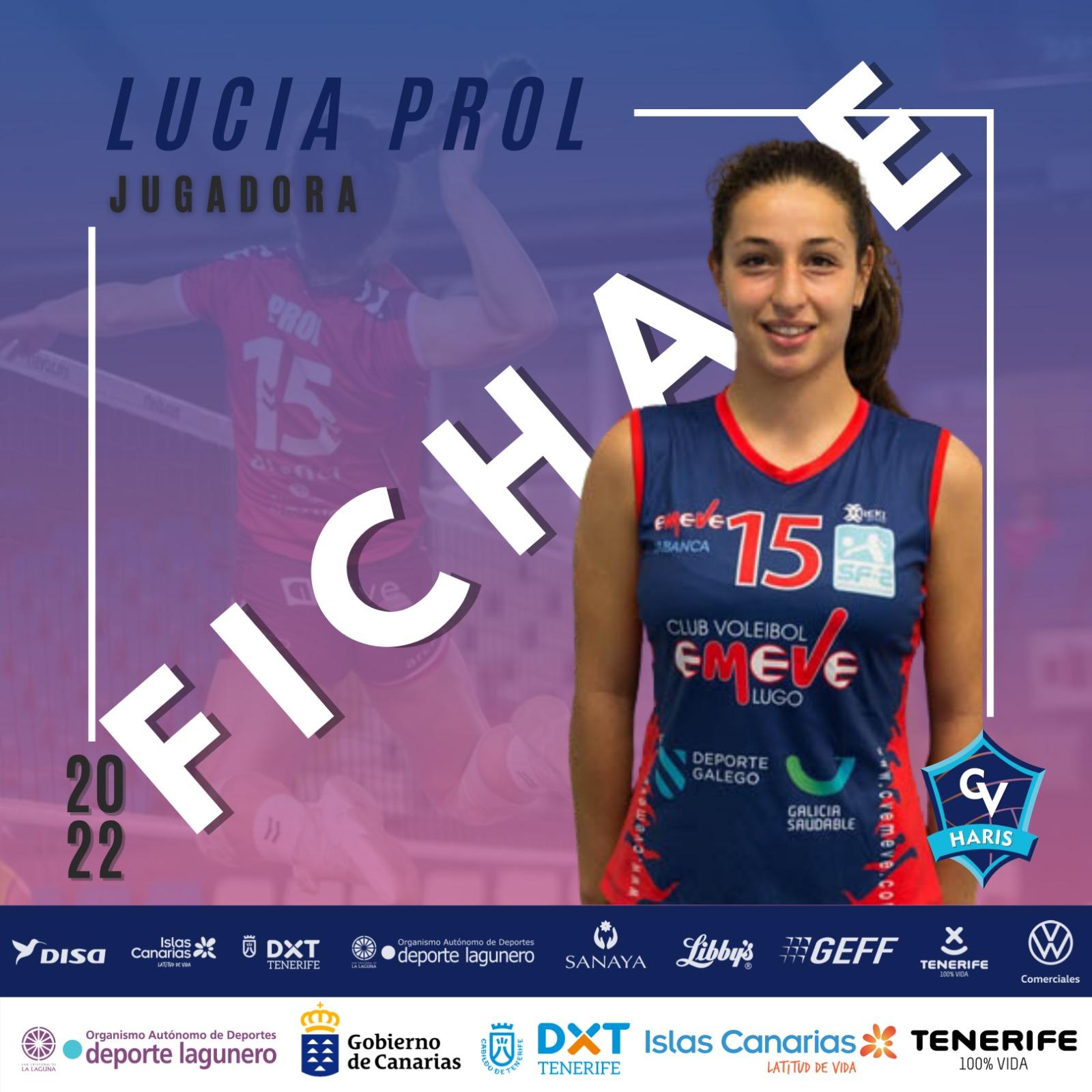 Lucía Prol ficha polo Sanaya Libbys La Laguna / CV HARIS