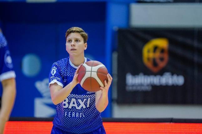 Patri Cabrera, xogadora do BAXI Ferrol / FEB