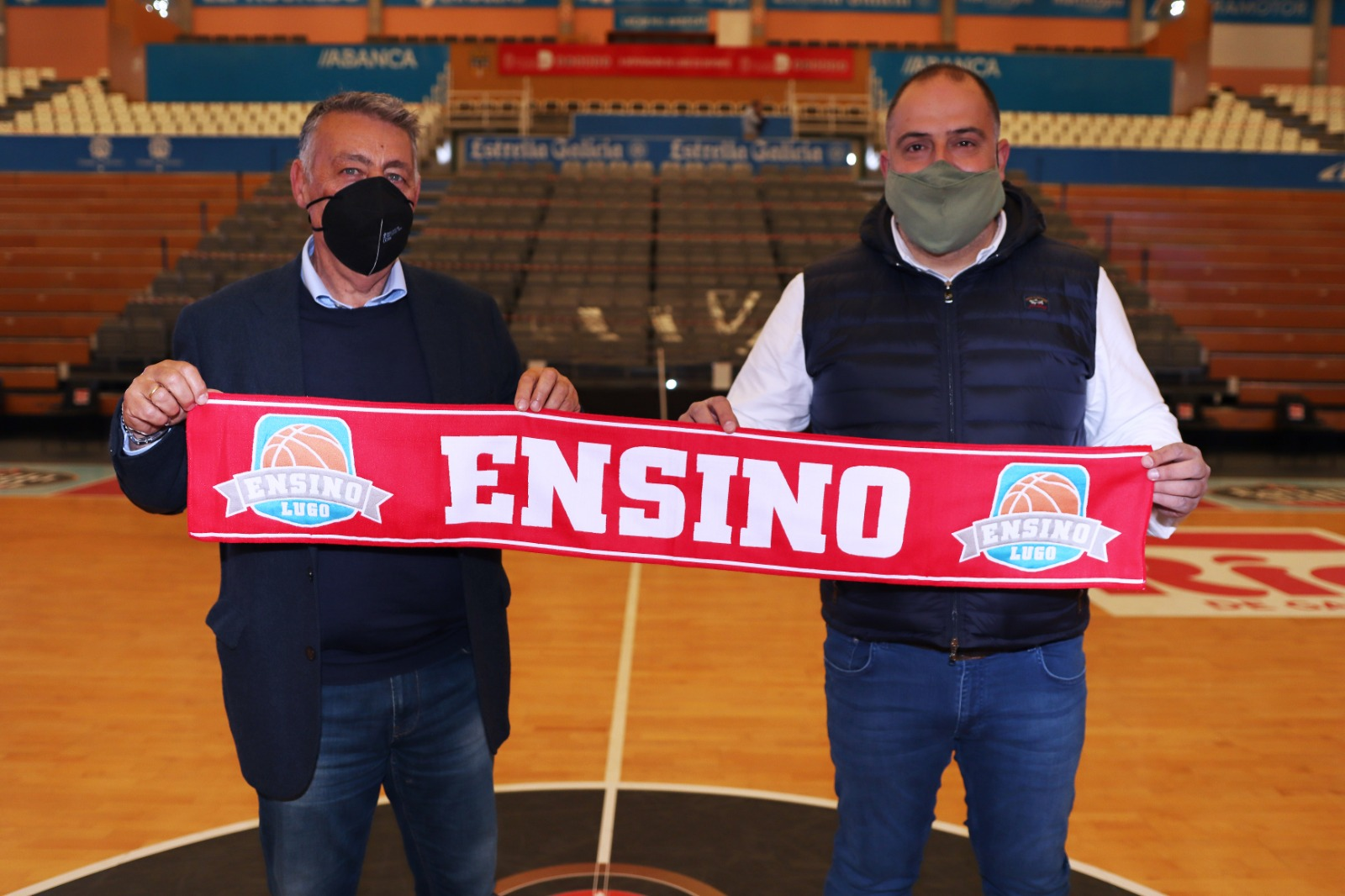 Presentación de Miguel Ángel Ortega como adestrador do Ensino / ENSINO