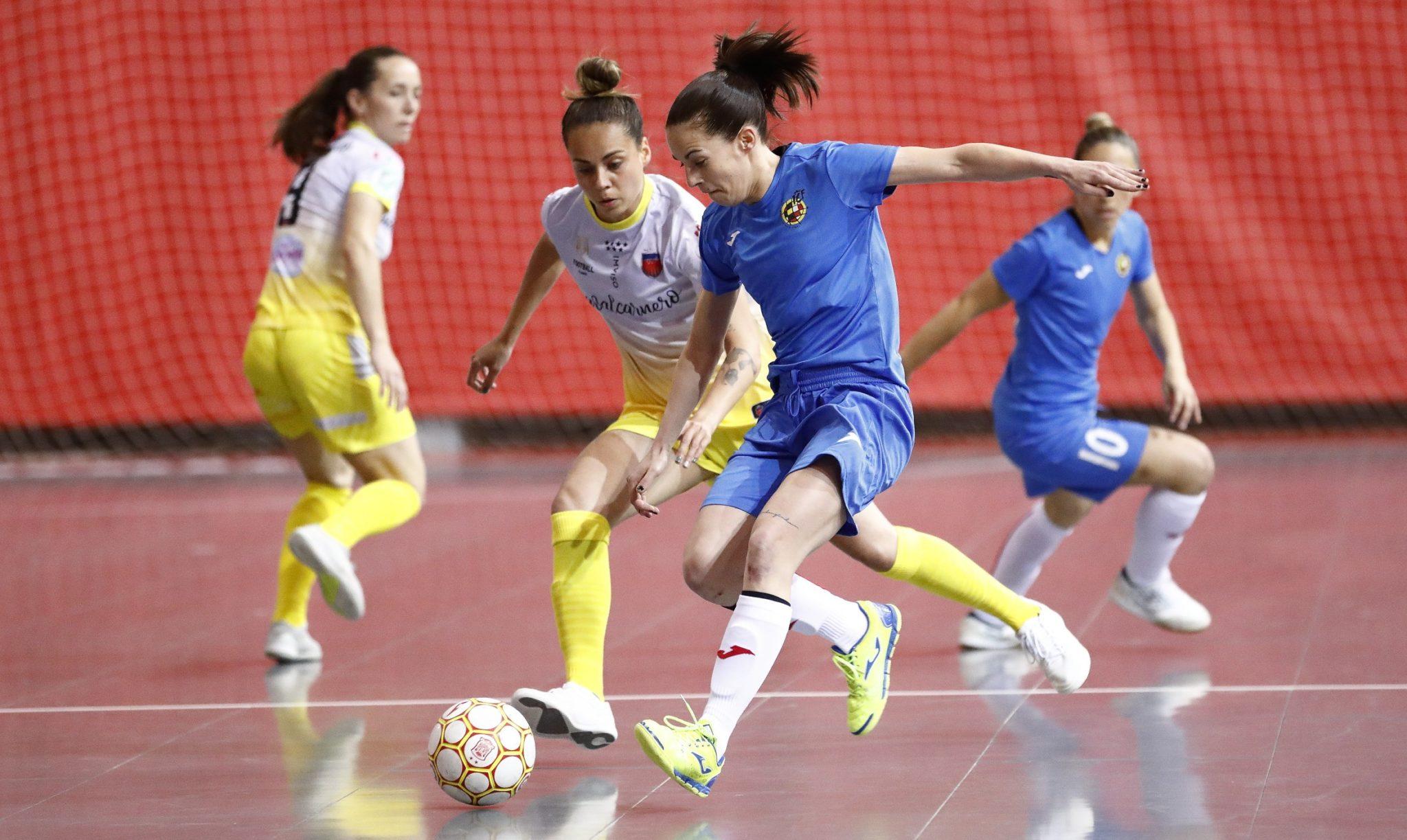 Selección Española de futsal vs Futsi Atlético, no que debutou Dany / RFEF