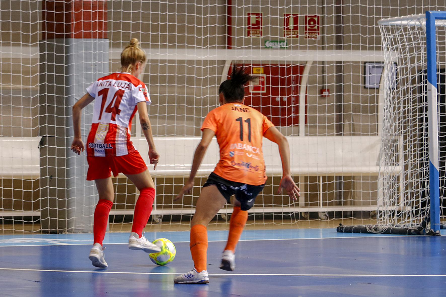 Supercopa 2019 Futsi vs Burela con Jane / BURELA