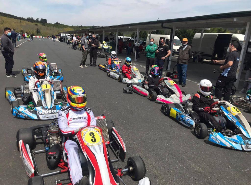 Vera Bouza, terceira no 35º Karting da Magdalena do Campionato Galego de Karting