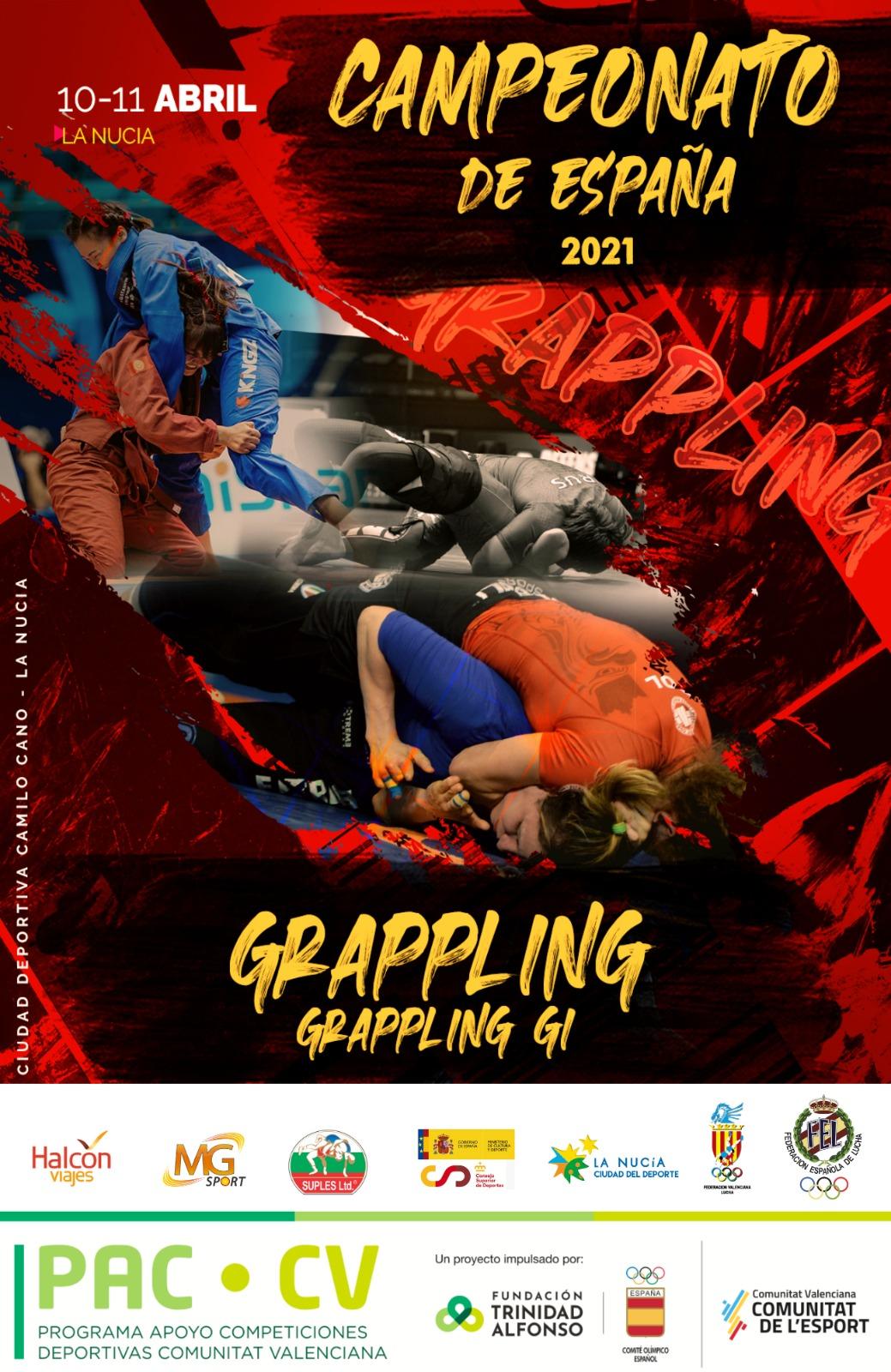 Campionatos de España de Loita Grappling e Grappling-Gi / FEGALOITA