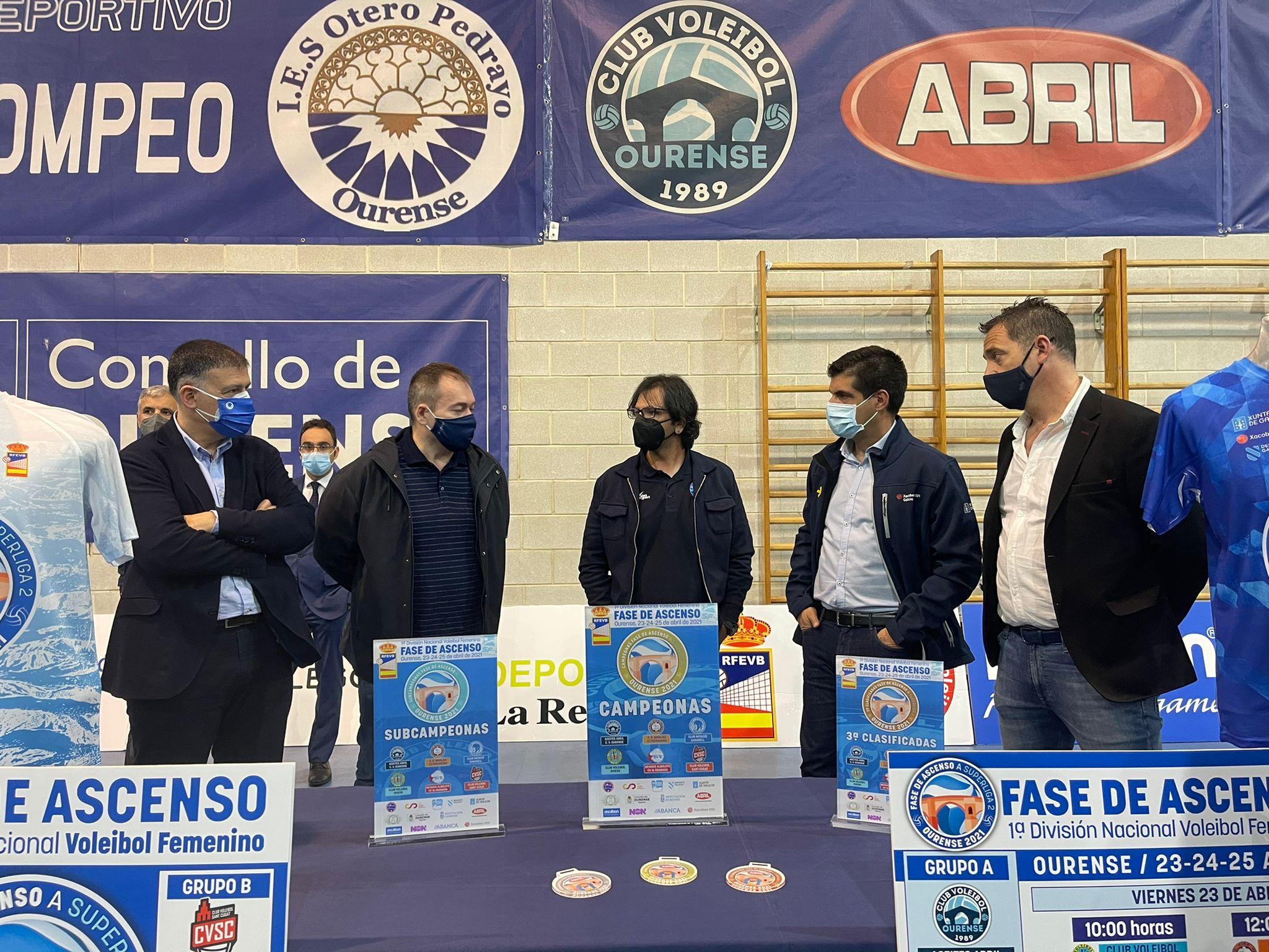 O Club Voleibol Ourense prepárase como anfitrión da fase de ascenso a Superliga 2 / CVO