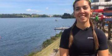 Antía Jácome, piragüista canoa da Escola de Piragüismo Ciudad de Pontevedra / FEDERACIÓN ESPAÑOLA DE PIRAGÜISMO