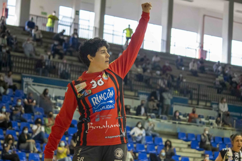 Castellanos, na EHF European Cup / CB MÁLAGA COSTA
