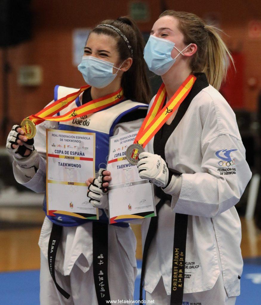 Prata da galega María Ferreira na Copa de España de Taekwondo / FETAEKWONDO