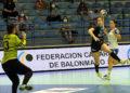 Atlético Guardés vs Aula Alimentos na semifinal da Copa da Raíña / RFEBM -José J. Núñez