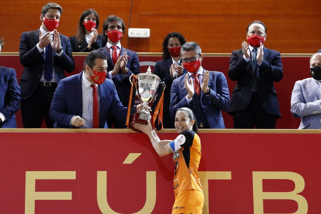Pescados Rubén Burela, campión da Copa da Raíña de fútbol sala feminino 2021 / RFEF