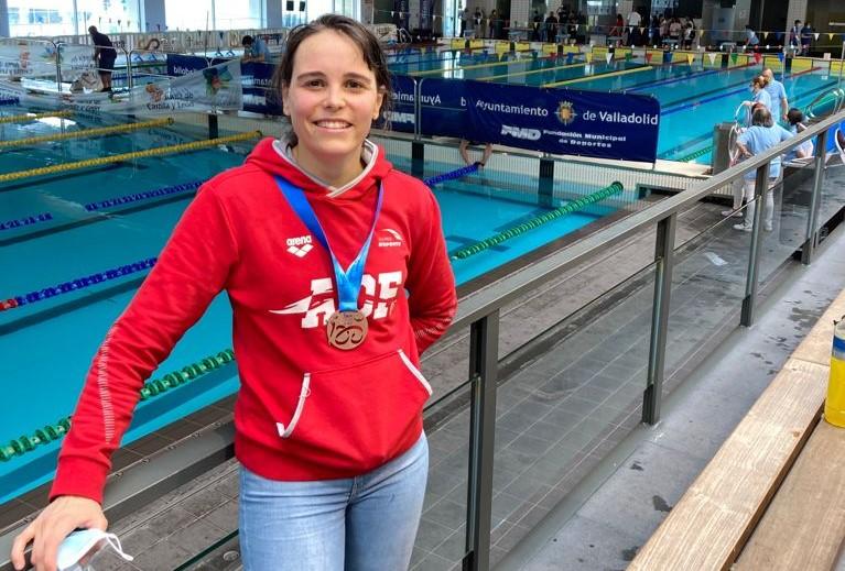 Cora Vinagre, da AD Fogar, bronce no IV Campionato de España Fondo Máster / AD FOGAR TW