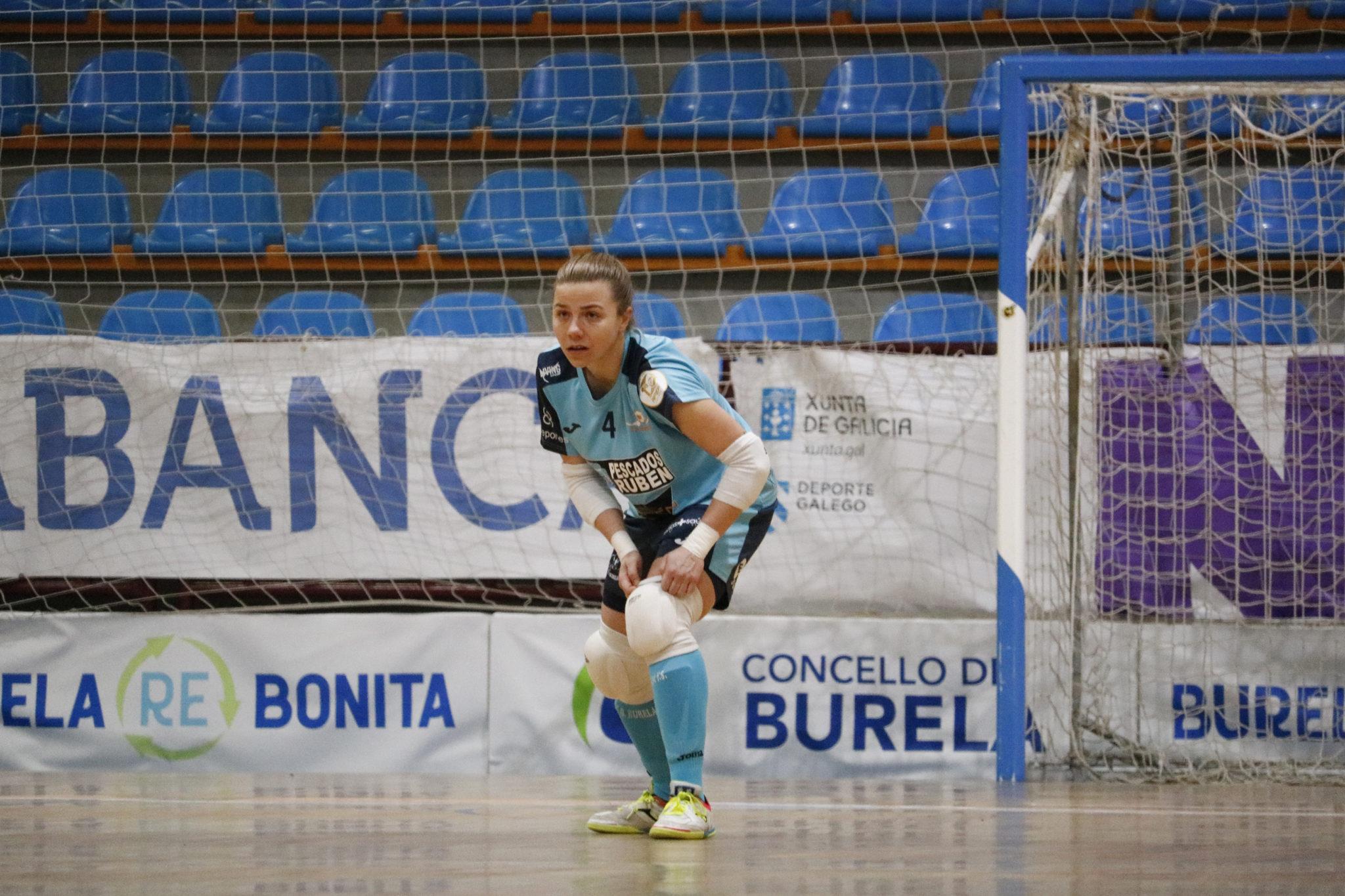 Sandra Buzón no Burela vs Alcorcón / PRBFS
