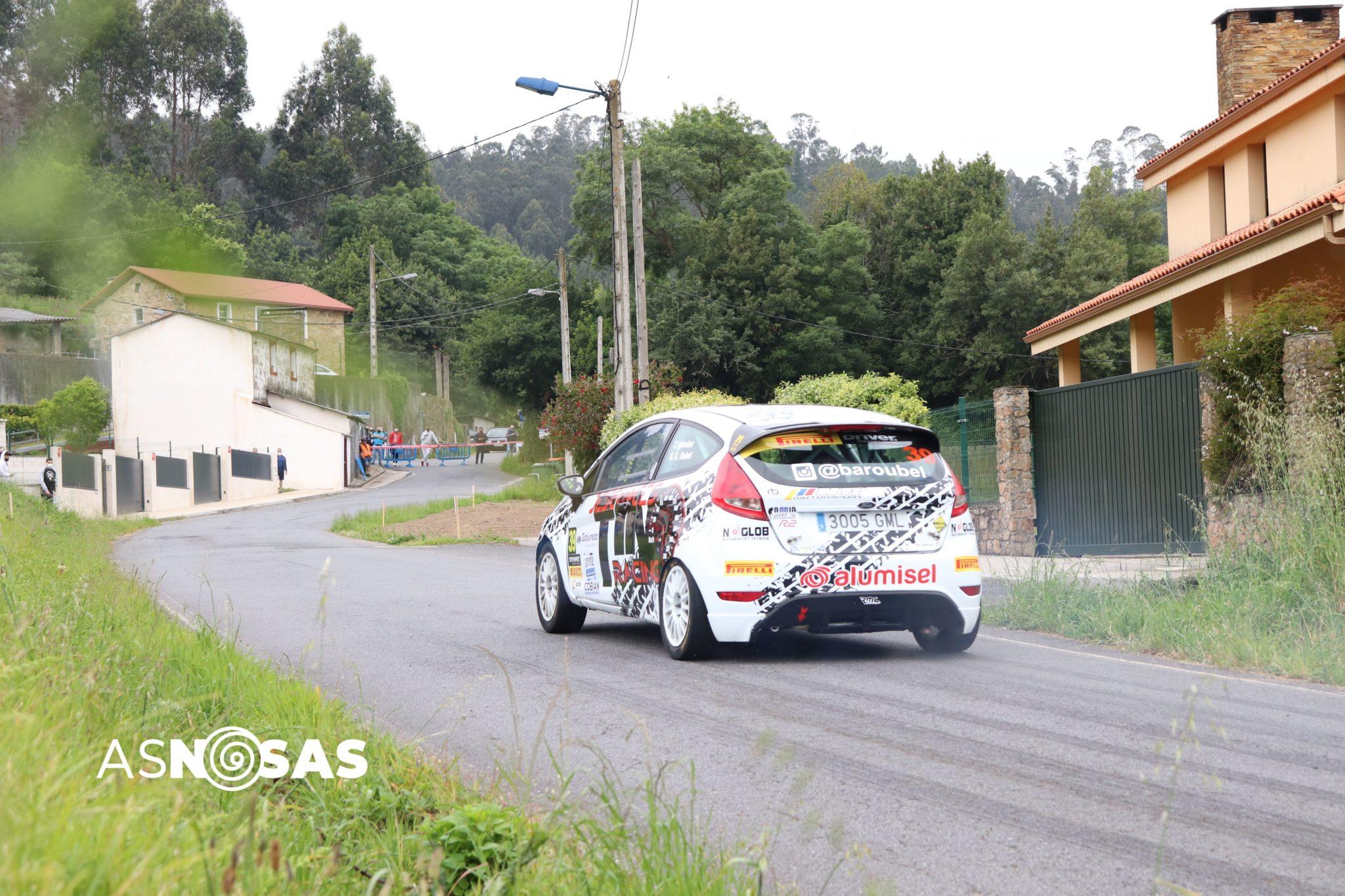 O coche da escudaría Desguaces Tino Racing con Bárbara Gómez como copiloto / ÁLEX VÁZQUEZ