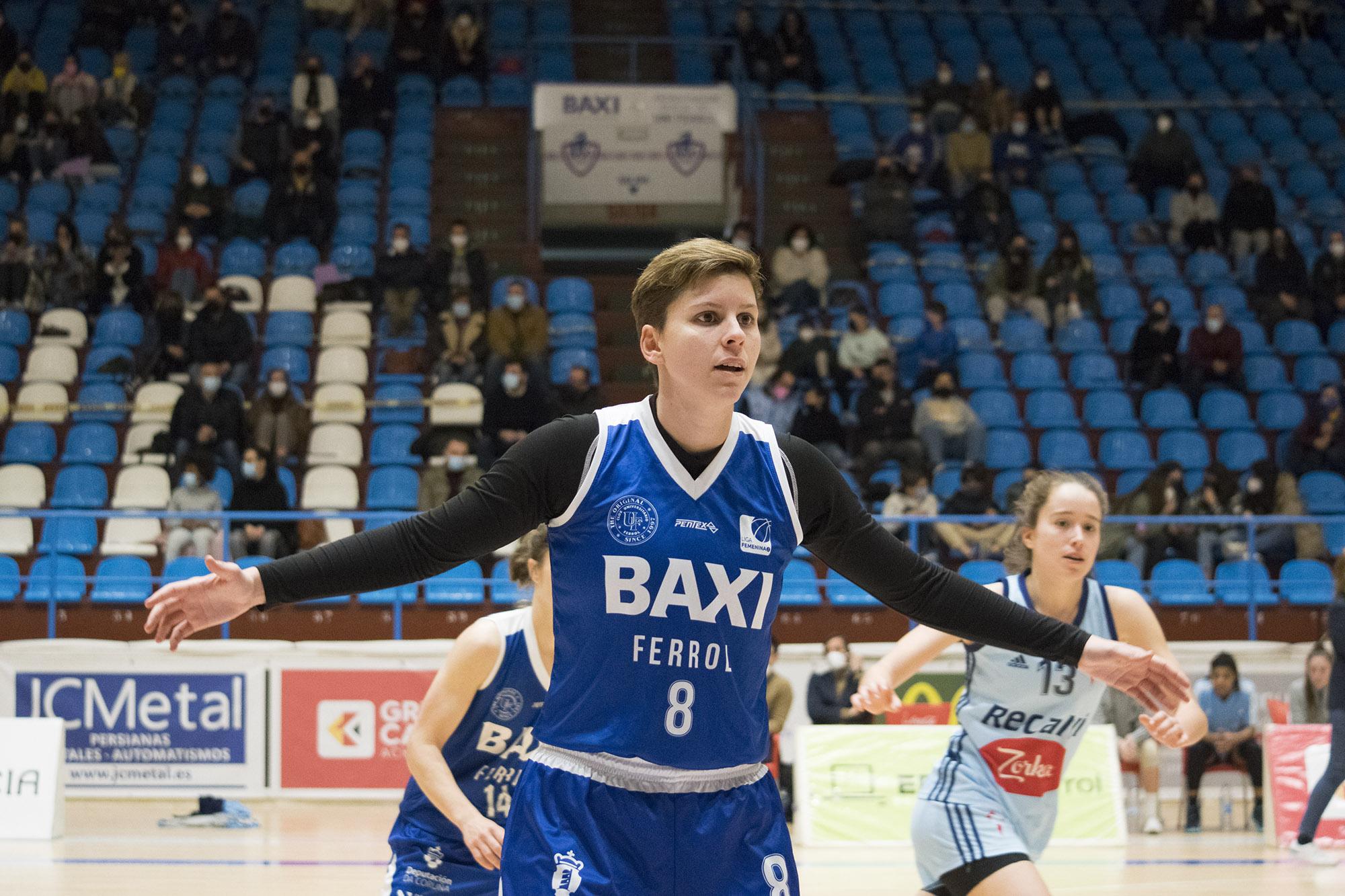 Patri Cabrera seguirá co BAXI Ferrol / UNI FERROL