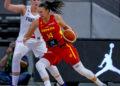 Raquel Carrera, MVP do partido Francia vs España / FEB