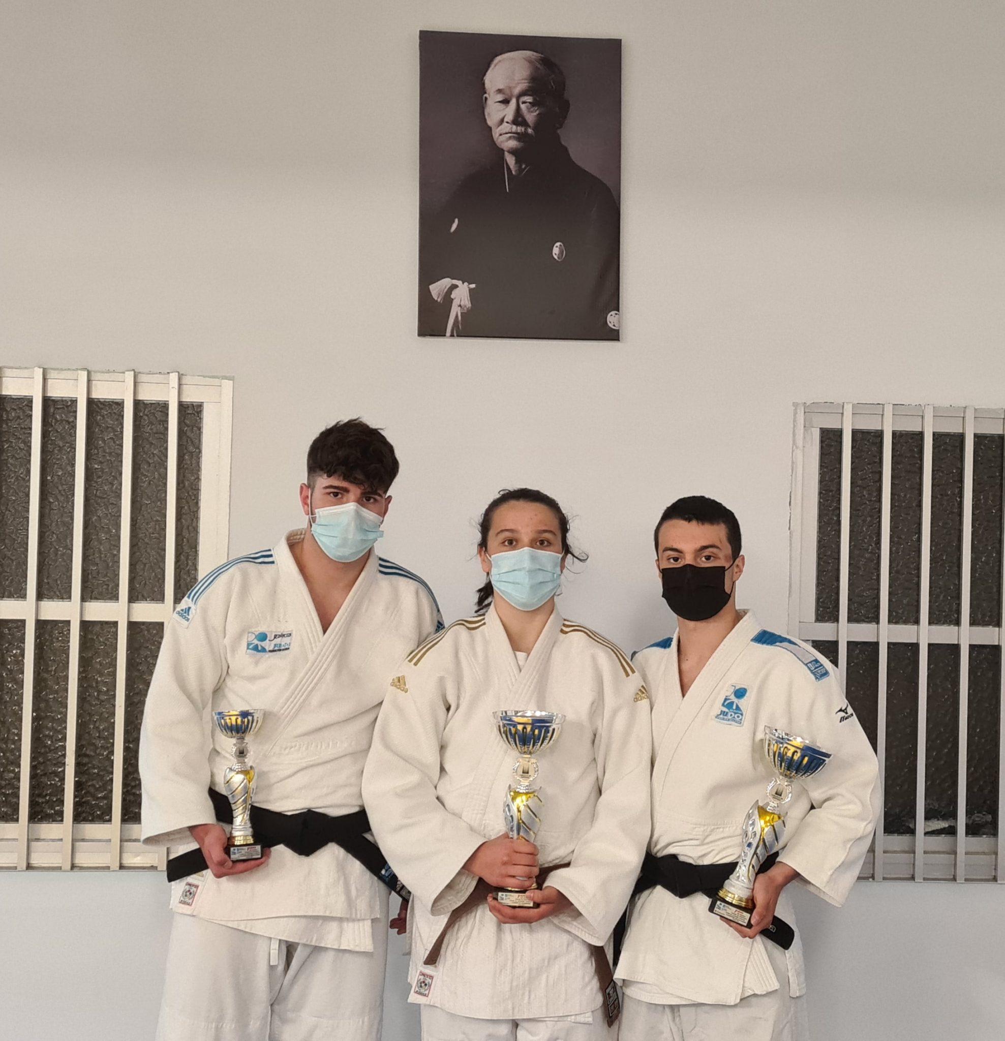 Segundo Campionato Gallego Junior consecutivo de June Moreno, da AD Judo Ferrolterra / ADJF
