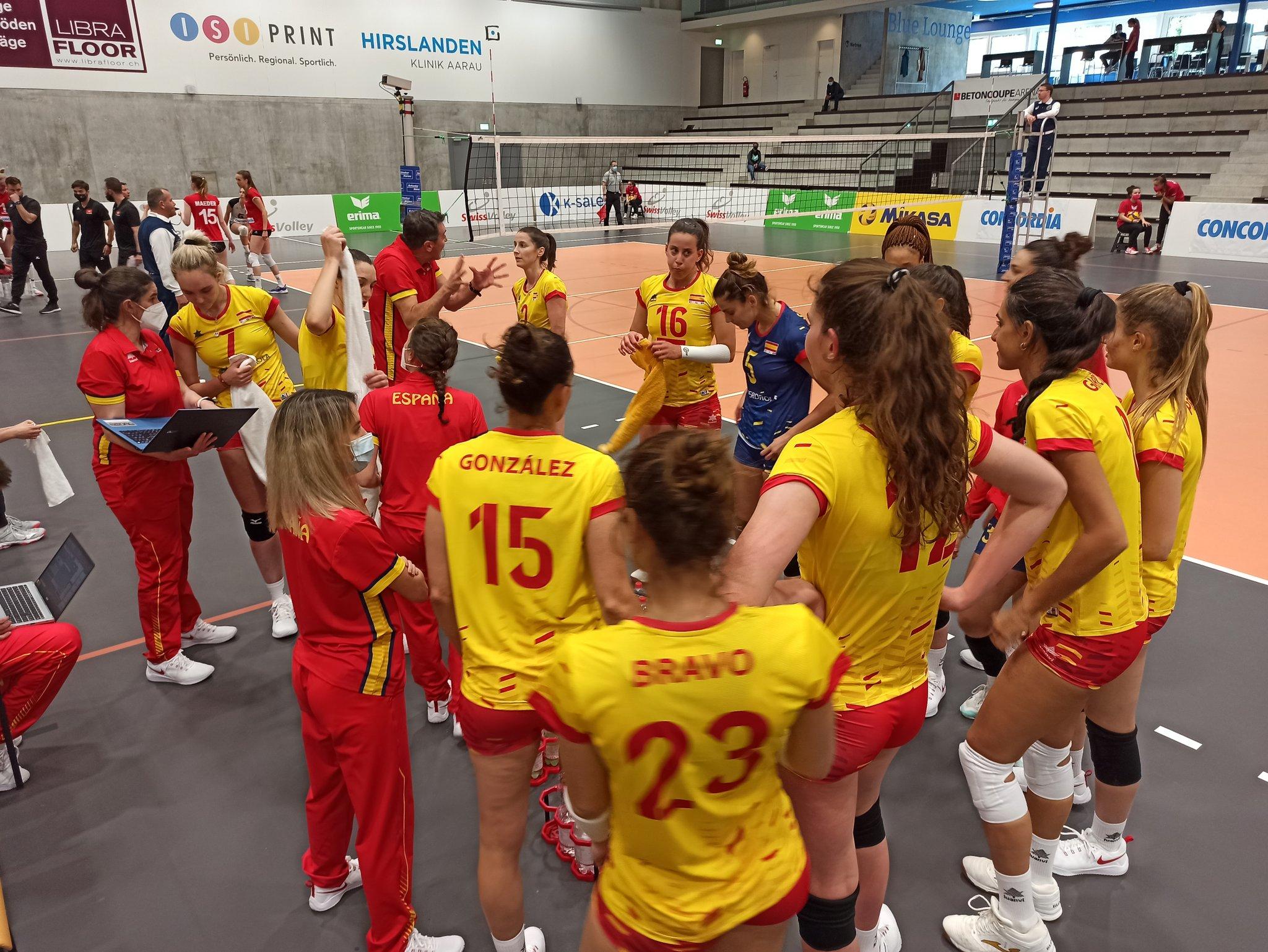 Selección Española - Selección Suíza / RFEVB