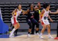Tamara Abalde coa Selección Española / FEB