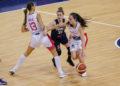 Tamara Abalde coa Selección Española - FEB