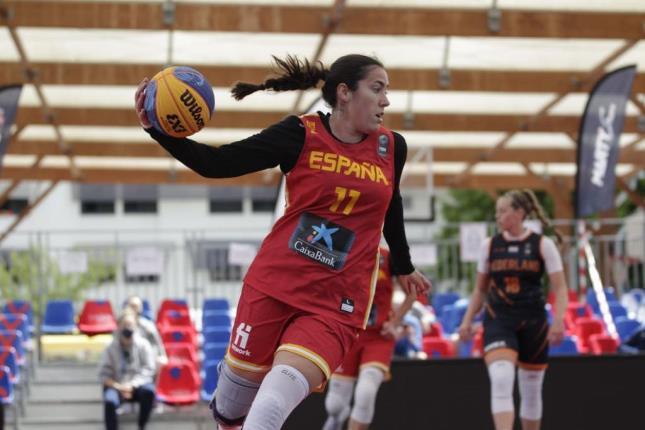 Vega Gimeno no 3x3 do Women's Series de Vorion / FEB