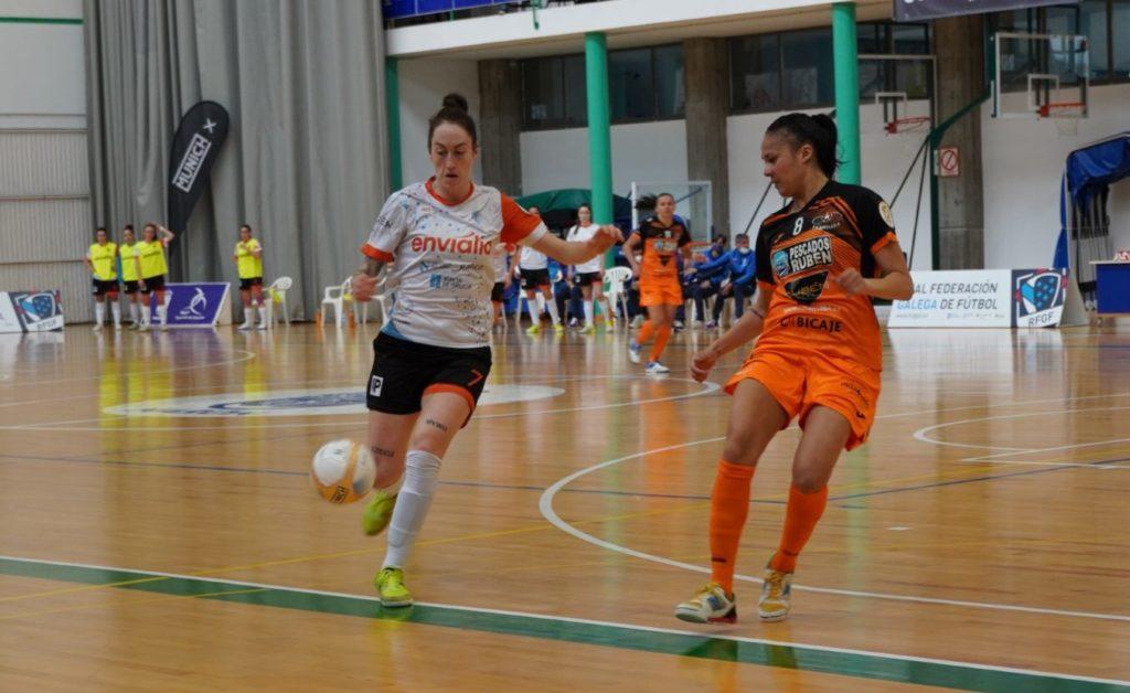 Ourense Envialia e Pescados Rubén Burela na Copa Galicia de Fútbol Sala Feminino / RFGF