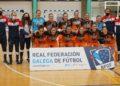 Formación do Pescados Rubén Burela na Copa Galicia de Fútbol Sala Feminino / RFGF