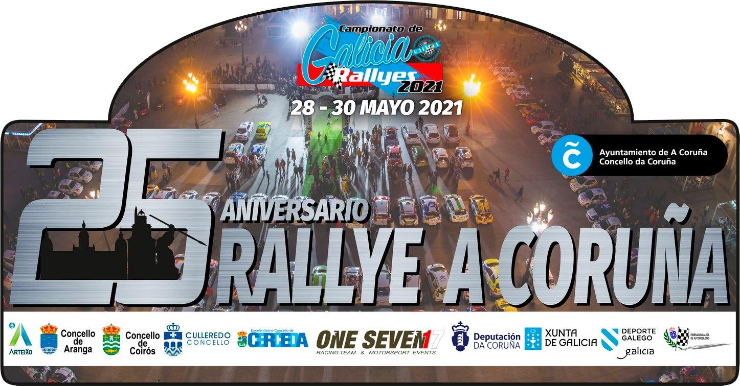 25º aniversario do Rallye da Coruña / ONE SEVEN RACING