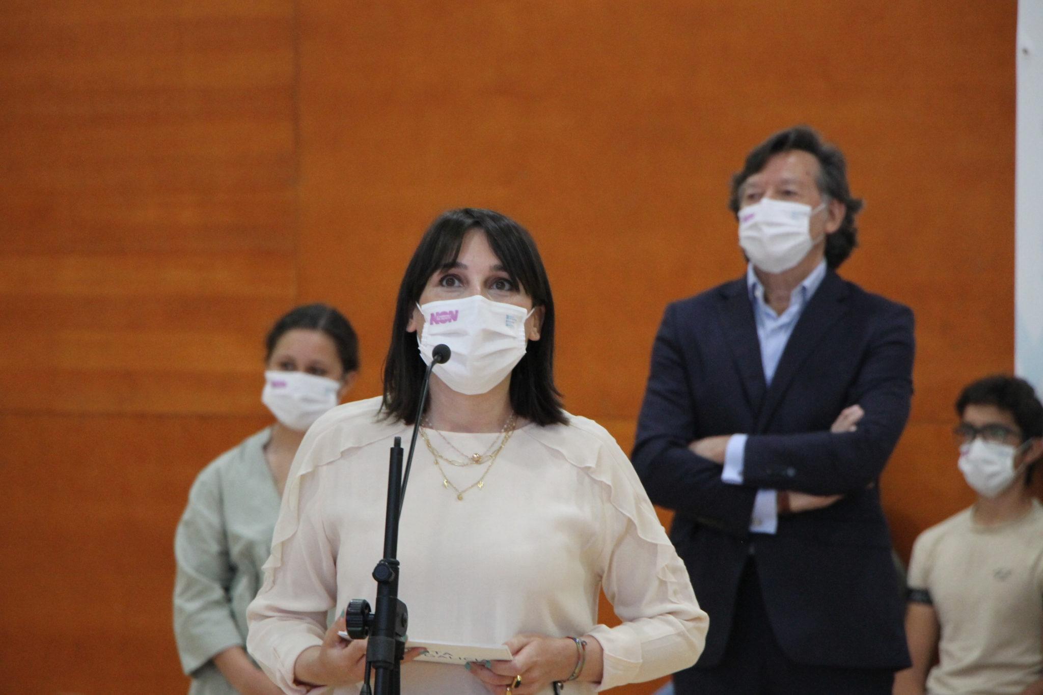A conselleira de Emprego e Igualdade, María Jesús Lorenzana / SABELA MOSCOSO