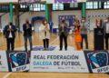Peque, do Pescados Rubén Burela, máxima goleadora da final da Copa Galicia de Fútbol Sala Feminino / RFGF